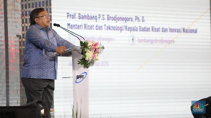 Bambang Brodjonegoro, Menteri Perencanaan Pembangunan Nasional/Badan Perencanaan Pembangunan Nasional (PPN/Bappenas). (CNBC Indonesia/Andrean Kristianto)