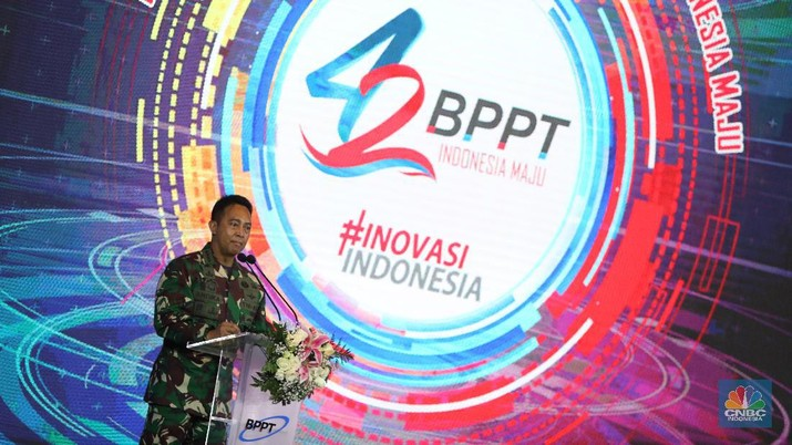 Kepala Staf TNI Angkatan Darat Jenderal Andika Perkasa. (CNBC Indonesia/Andrean Kristianto)