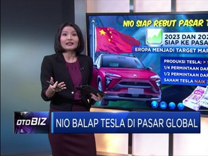 Nio Balap Tesla di Pasar Global