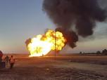Ledakan Besar Guncang Fasilitas Militer AS di Yordania