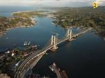 Diam-Diam Jembatan 'Golden Gate' Lagi Dibangun di Sulawesi