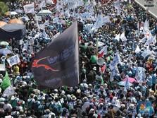 Buruh Tolak Omnibus Law: Tak Rela Dikontrak Seumur Hidup!