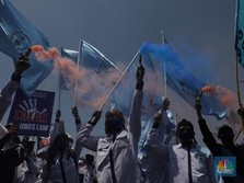 Demo UU Ciptaker Hari ke-3, IHSG Bakal Jeblok Gak nih?