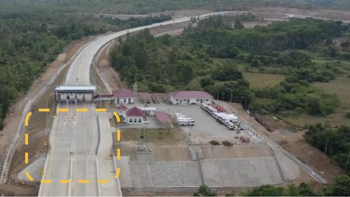 Peresmian jalan tol banda Aceh - Sigli Seksi 4. Dok: PUPR