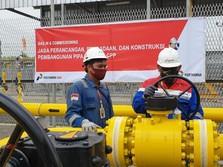 Pertagas Uji Coba Alirkan Gas Perdana ke BOB Siak Pusako