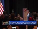 Trump Kembali Dicalonkan Partai Republik