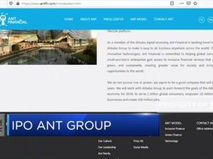 IPO Ganda,  Ant Group Melantai di Bursa Hong Kong & Shanghai