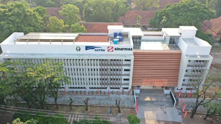 Jokowi Resmikan Gedung Vokasi Universitas Diponegoro. Dok: Ist