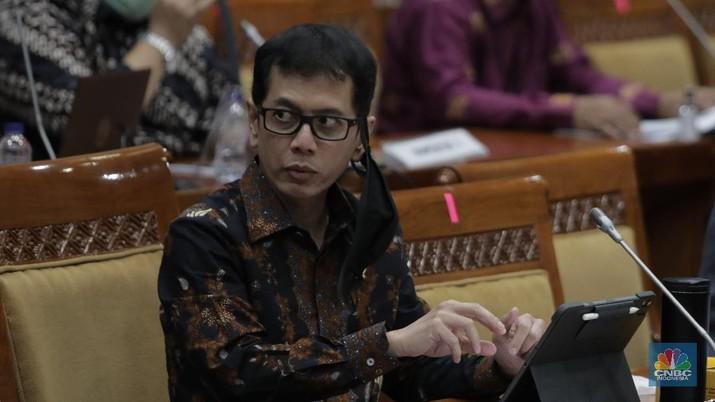Menteri Pariwisata Wishnutama. (CNBC Indonesia/Muhammad Sabki)