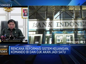 Rencana Reformasi Sistem Keuangan, BI & OJK akan Jadi Satu?
