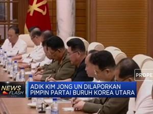 Adik Kim Jong Un Dikabarkan Pimpin Partai Buruh Korea Utara