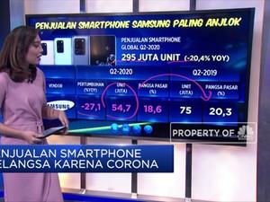 Penjualan Smartphone Nelangsa Karena Corona