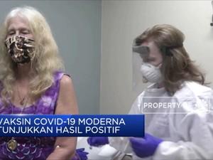 Vaksin Covid-19 Buatan Moderna Tunjukkan Hasil Positif