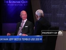 WOW! Kekayaan Jeff Bezos Tembus USD 200 Miliar