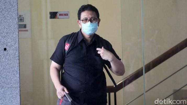 Direktur Utama, Budiman Saleh diperiksa KPK.  Dok: Ari Saputra - detikNews