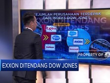 Exxon Ditendang Dow Jones