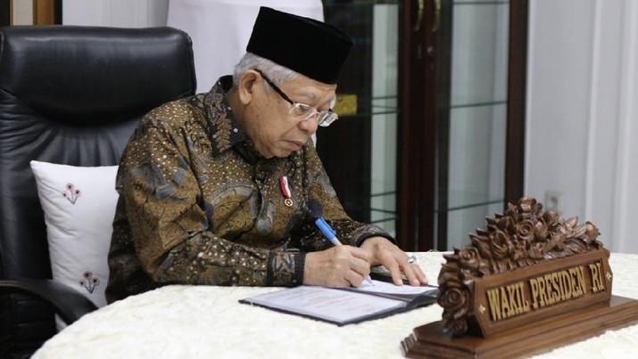 K.H MA'RUF AMIN, Wakil Presiden RI. (Dok: IG  kyai_marufamin)