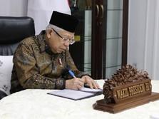 Diam-diam, Jokowi-Ma'ruf Gelar Rapat Omnibus Law Ciptaker