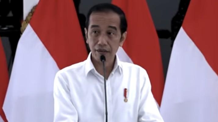 Penyerahan Banpres Produktif Usaha Mikro, Istana Kepresidenan Yogyakarta, 28 Augustus 2020. (Tangkapan layar youtube Setpres RI)