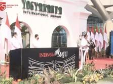 Jokowi Resmikan Bandara Internasional Yogyakarta Rp 11,3 T