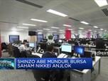 Shinzo Abe Mundur, Bursa Saham Nikkei Anjlok