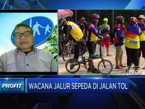 Instran: Jalur Jalan Tol Bahayakan Pesepeda