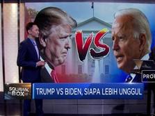 Trump Vs Biden, Siapa Lebih Unggul?
