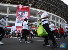 Riset: Pakai Masker Saat Olahraga Tak Bikin Kehabisan Oksigen