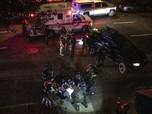 Rusuh AS Libatkan Pendukung Trump, Polisi Negara Bagian Turun