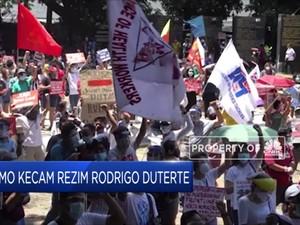 Warga Filipina Demo Kecam Rezim Rodrigo Duterte