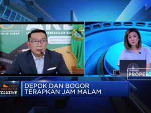 Disiplinkan Warga, Ridwan Kamil Dorong Aturan Jam Malam