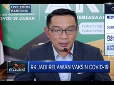 Disuntik Vaksin Covid-19, Ridwan Kamil Jadi Gampang Ngantuk