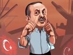 Erdogan Laporkan Koran Yunani Penulis Kata-kata Kasar