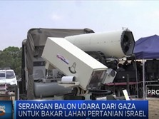 Israel Siapkan Senjata Laser Untuk Tembak Balon Peledak
