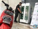 Menteri ESDM Resmikan Stasiun Penukaran Baterai Motor Listrik