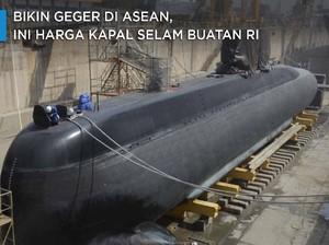 Bikin Geger di ASEAN, Ini Harga Kapal Selam Buatan RI