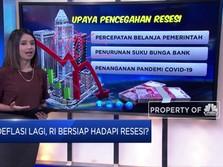 Deflasi Lagi, Indonesia Bersiap Hadapi Resesi?