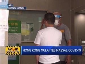 Hong Kong Adakan Tes Massal Covid-19