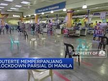 Pemerintah Filipina Perpanjang Lockdown Parsial di Manila