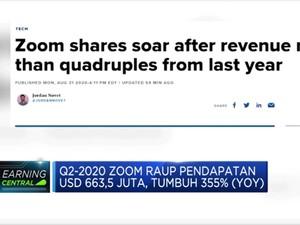 Q2-2020, Zoom Raup Pendapatan USD 663,5 Juta