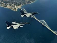 Heboh F-16 Turki Kejar-kejaran F-16 Yunani, Ini Ceritanya
