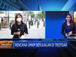 Pro-Kontra Rencana UMKM Berjualan di Trotoar