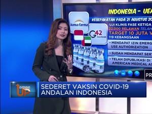 Sederet Vaksin Covid-19 Andalan Indonesia
