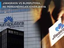 Jiwasraya vs Bumiputera, Begini Perbandingan Kinerjanya