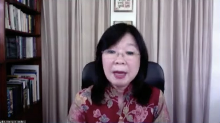 Kepala Departemen Kebijakan Sistem Pembayaran BI Filianingsih Hendarta (Tangkapan Layar Webinar)