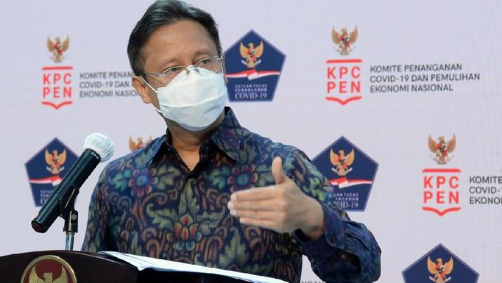 Ketua Satgas Pemulihan Ekonomi Nasional (PEN) Budi Gunadi Sadikin (Biro Pers Sekretariat Presiden/ Kris)