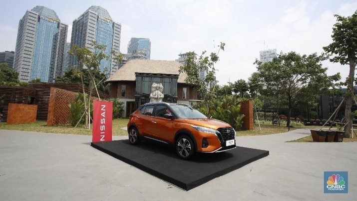 Nissan Kicks (CNBC Indonesia/ Tri Susilo)