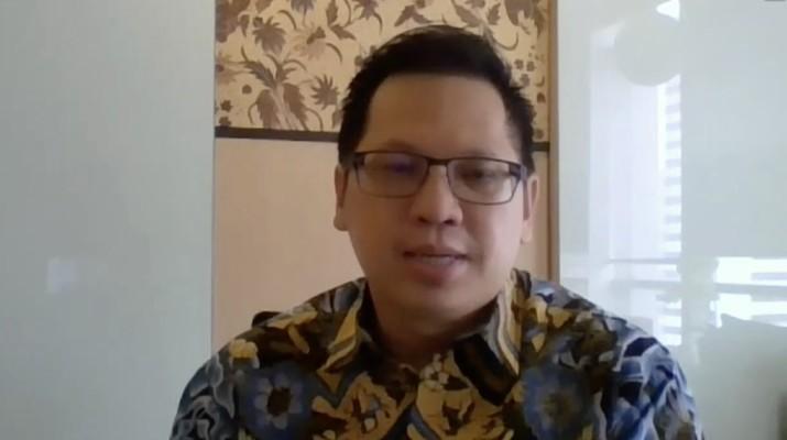 Presiden Direktur IBM Indonesia Tan Wijaya (Tangkapan Layar Webinar)