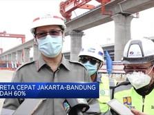 Realisasi Proyek Kereta Cepat Jakarta-Bandung Capai 60%