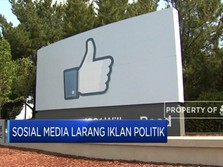 2 Sosial Media Ini Larang Iklan Politik Pemilu AS
